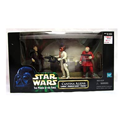 Hasbro Star Wars - Power of The Force - Cantina Aliens - Labria, Nabrun Leids, Takee: Toys & Games