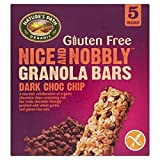 Natures Path Gluten Free Organic Dark Choc Chip Granola Bar 5 per pack - Pack of 2