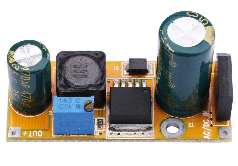 Yeeco DC Voltage Regulator Step Down Car Power Supply Module Adjustable Buck Converter Stabilizer DC 4.5-30V to 0.8-30V