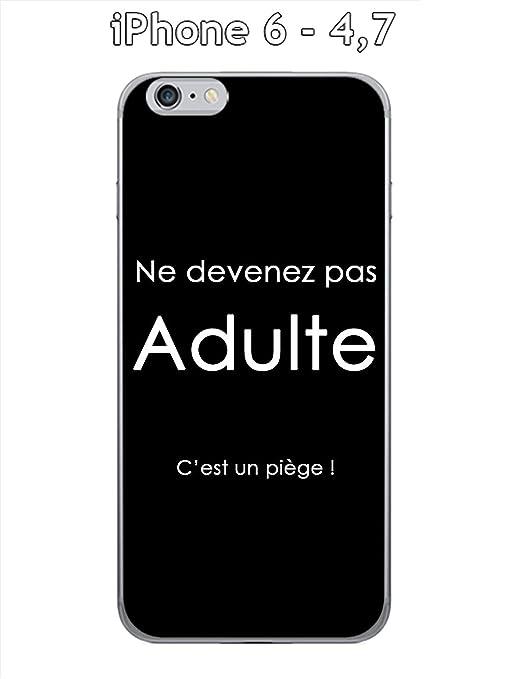 Onozo Cover Apple Iphone 6 47 Design Citazione Adulto Testo