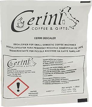 Quality Espresso Machine Descaler by Cerini Coffee (5 pack)