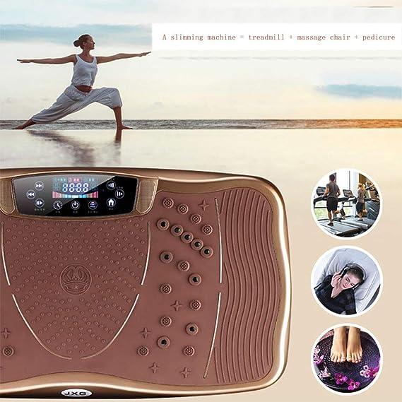 Amazon.com : ZHLXZ Fitness Plataforma Vibratoria de Masaje Altavoz ...