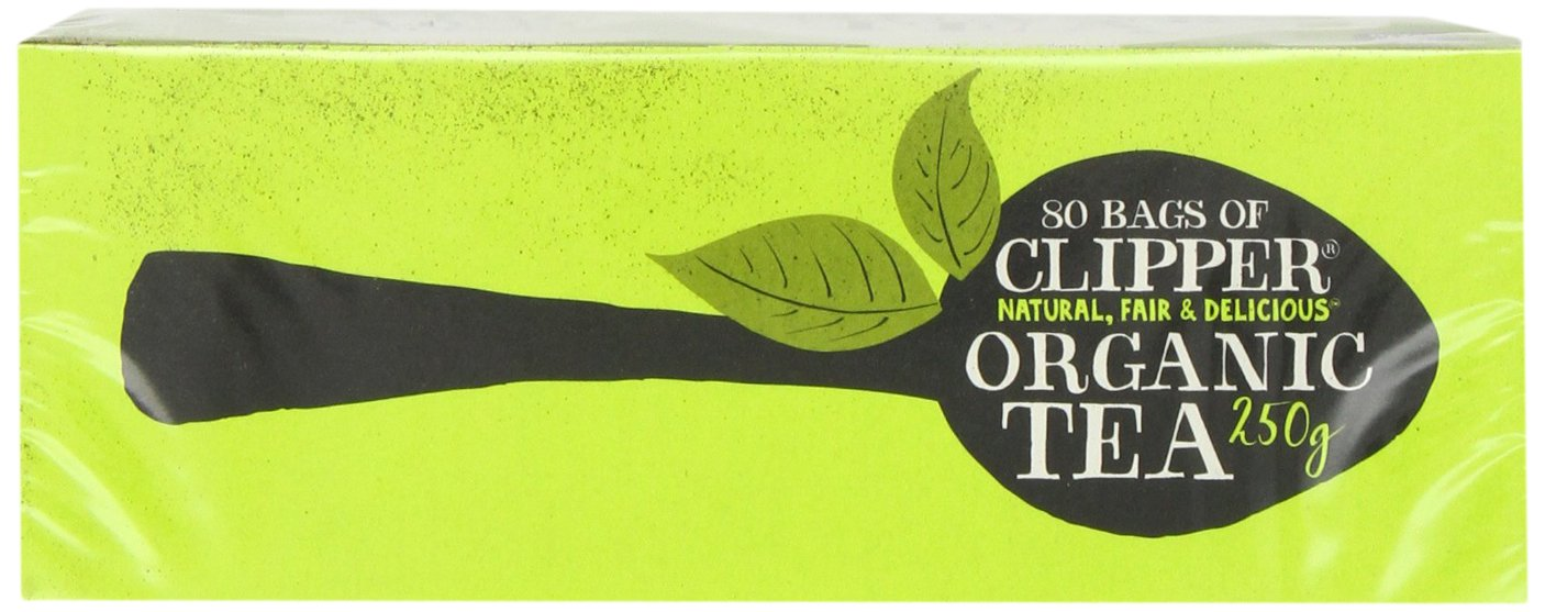 Clipper Teas - Everydays - Organic Tea - 80 Bags (Case of 6) by Clipper Tea (Image #6)