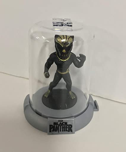 """1x BLACK PANTHER DOMEZ BLACK PANTHER  2/"""" COLLECTIBLE MINI FIGURE"""