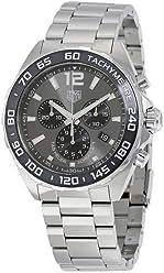 6ba86470dba Tag Heuer Formula 1 Chronograph Anthracite Dial Mens Watch CAZ1011.BA0842