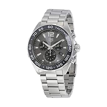 8f4980fbac8 Image Unavailable. Image not available for. Color  Tag Heuer Formula 1  Chronograph Anthracite Dial ...