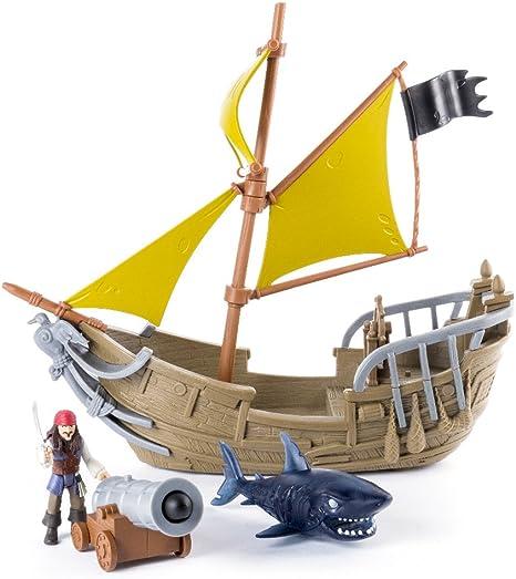 Piratas Del Caribe - Playset Jack Sparrow (Bizak 61923112): Amazon ...