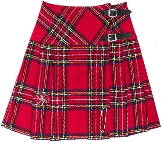 House Of Scotland Mini Jupe Ecossaise En Laine Acrylique Pour Femme 40 6 Cm De Long Amazon Ca Vetements Et Accessoires