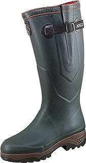 Aigle 85049 Parcours Vario - Botas de agua unisex para adulto, color verde, talla 47