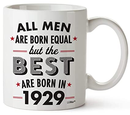 90th Birthday Gifts For Ninety Years Old Men Gift Mugs Happy Funny 90 Mens Man Best