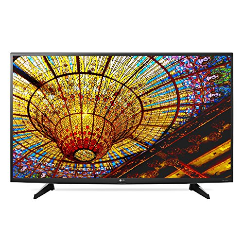 LG Electronics 43UH6100 43-Inch 4K Ultra HD Smart LED TV (Certified Refurbished)