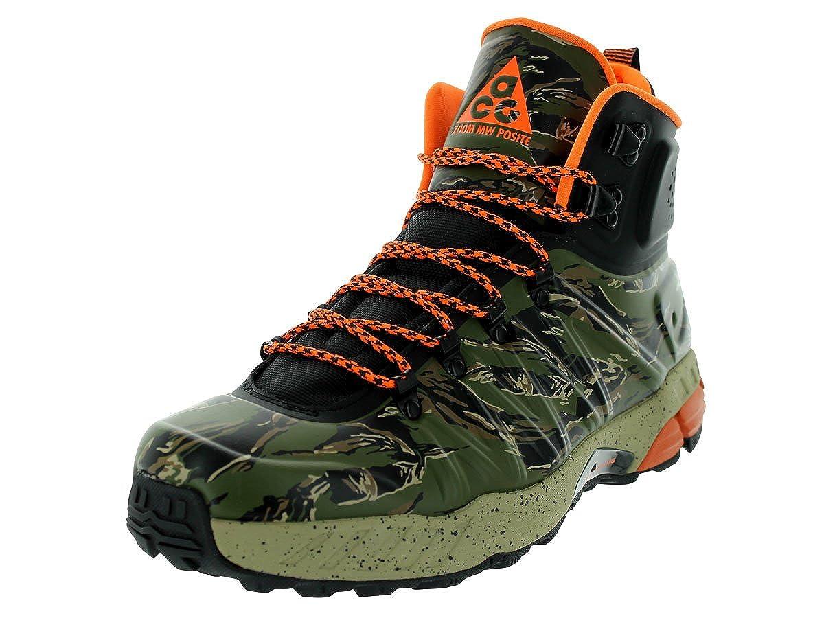 7313d945c1dc8 Nike Men s Zoom Meriwether Posite Boots 616215 Black   Total Orange-Bomb-Lagoon  Green 9UK  Amazon.co.uk  Shoes   Bags
