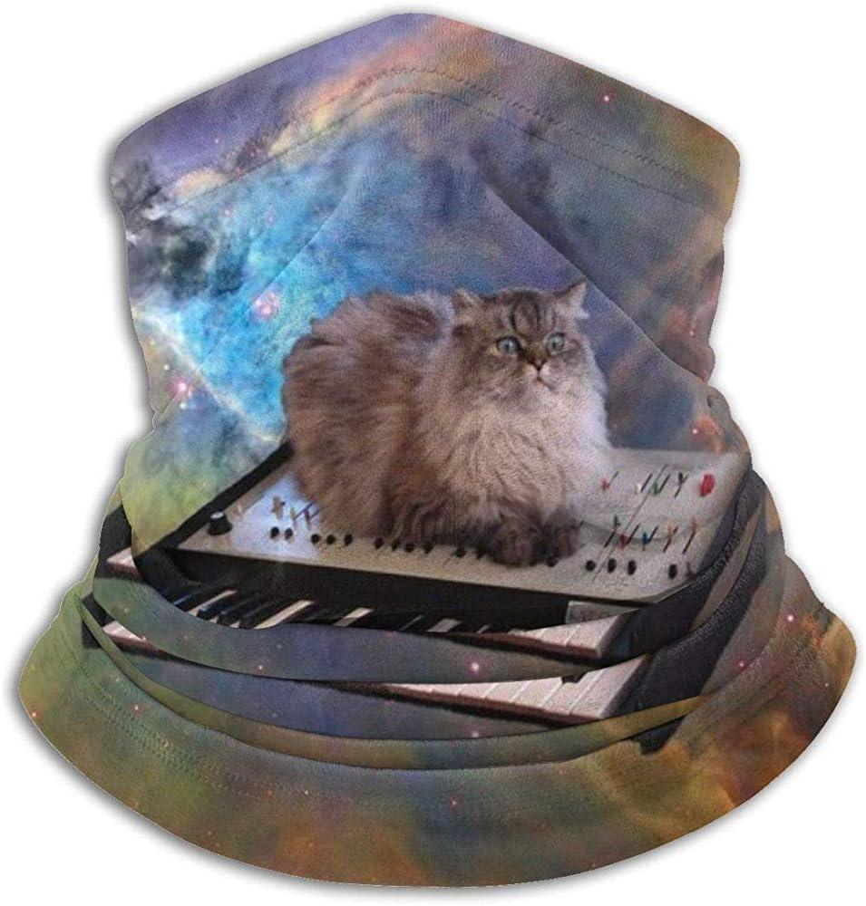 air kong Nackenw/ärmer Nackenw/ärmer Sturmhauben Katze im Weltraum Winddichte Maske Kopfbedeckung Kopftuch Multifunktions-Kopftuch