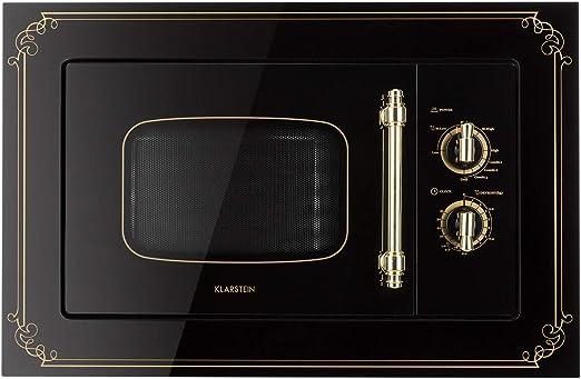 Klarstein Victoria 20 - Microondas, Diseño retro, 20 litros ...