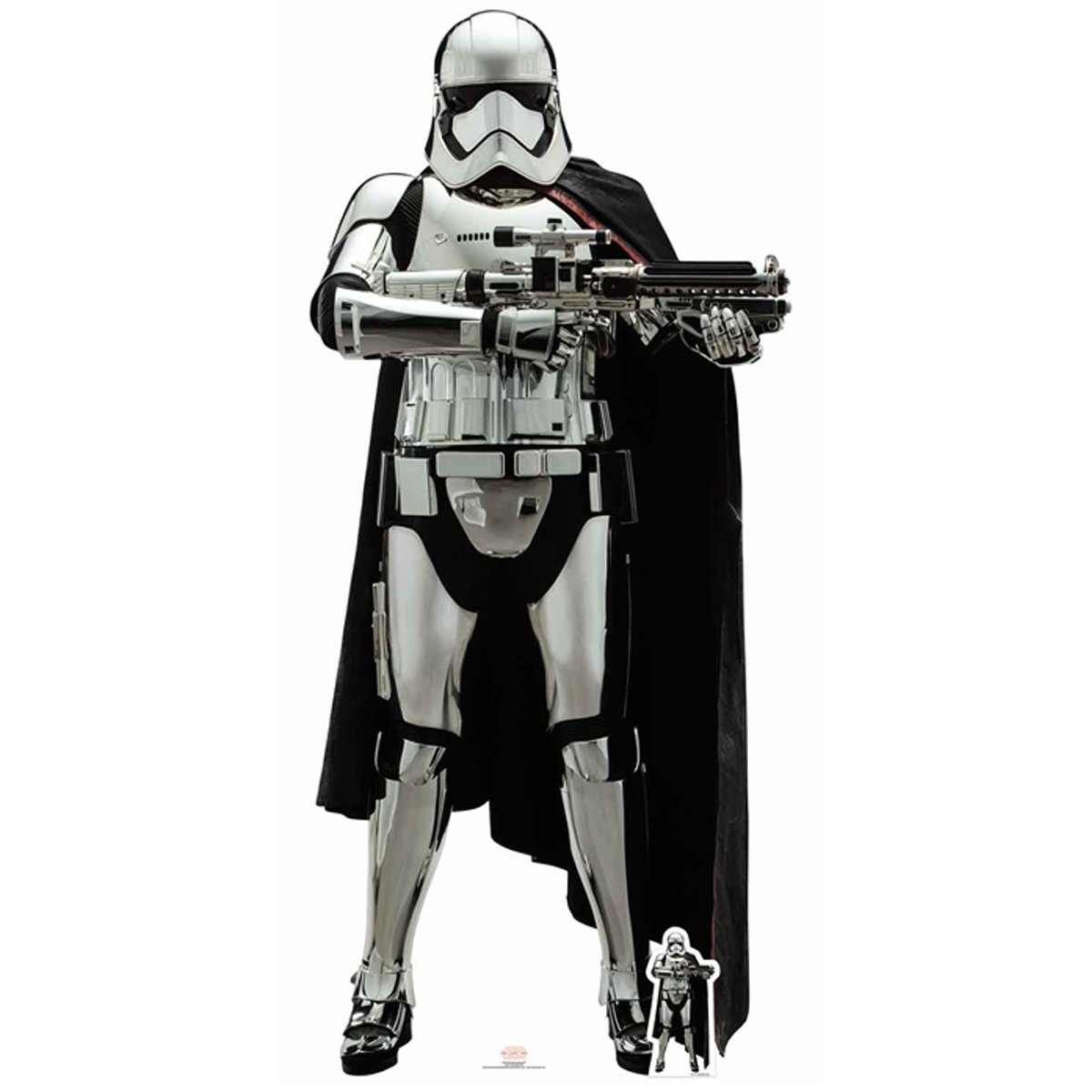 Official Star Cutouts Star Wars Captain Phasma (The Last Jedi) Lifesize Cardboard Cut Out SC1078