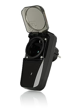 Trust Smart Home 433 Mhz Funk-Steckdosen-Dimmer AGDR-200 (für den Außenbereich - 200 W)