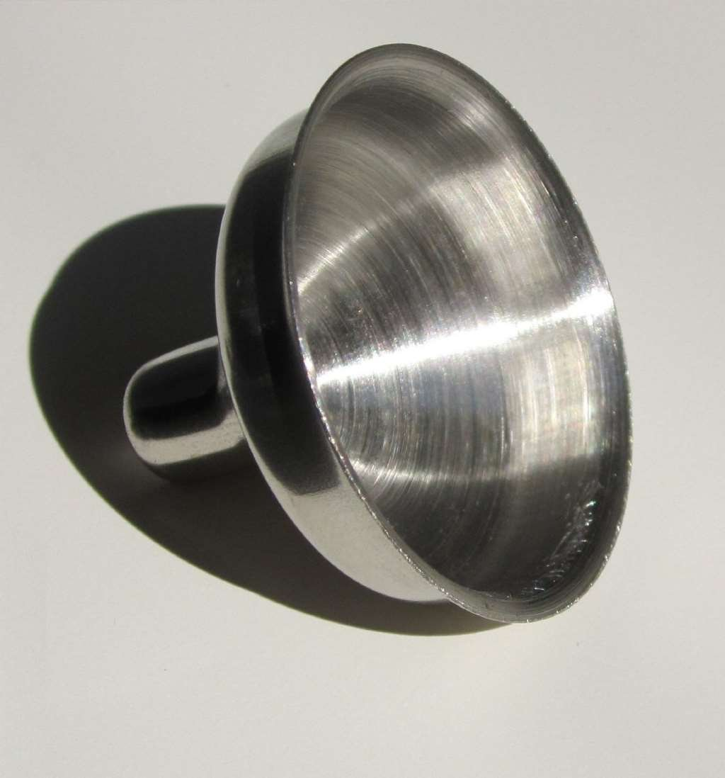 Eclectic Supply Funnel-1pk-VC Stainless Steel Mini Funnel for Essential Oil Bottles/Flasks
