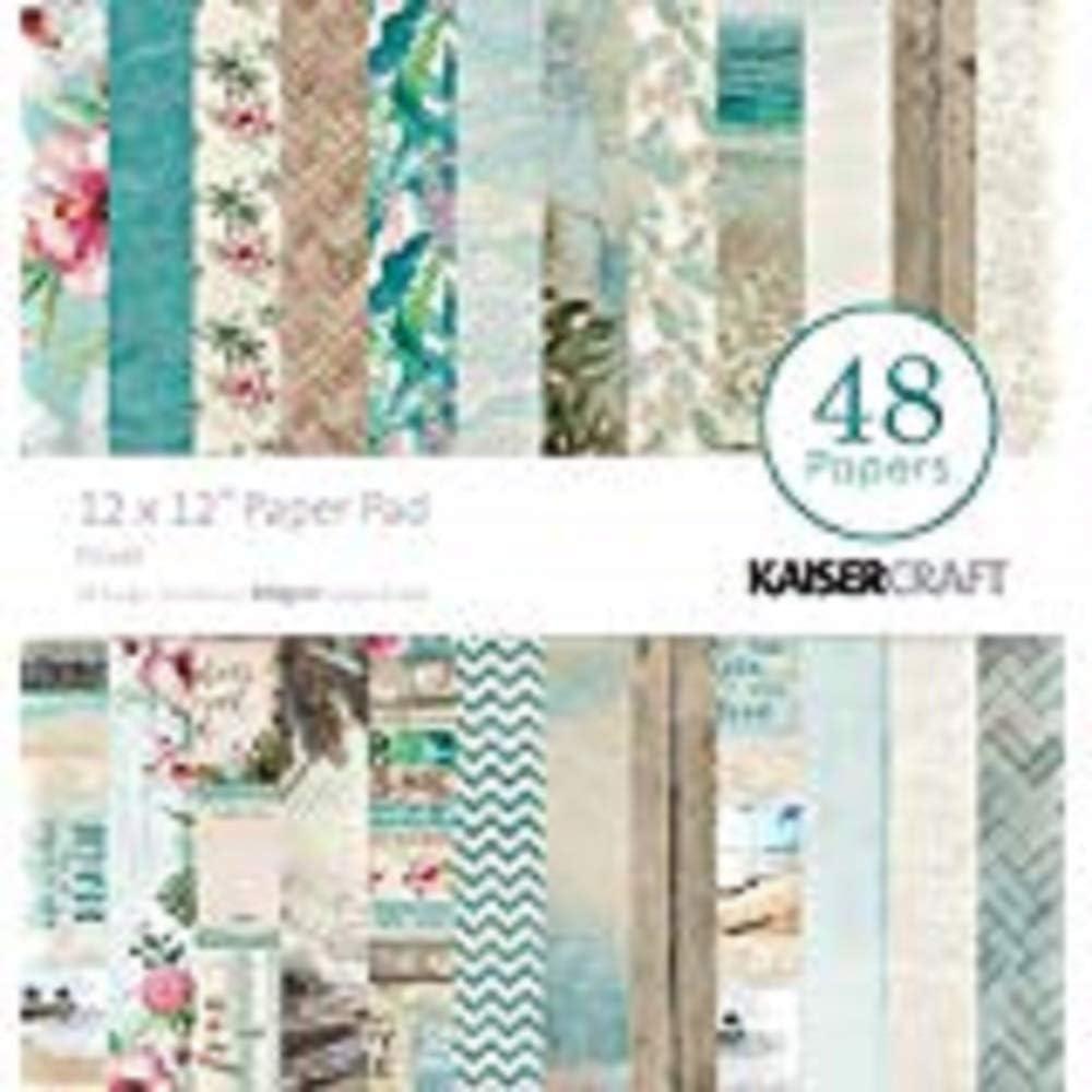Kaisercraft Paper Pad 12X12 48//Pkg-Escape