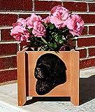 Cheap Newfoundland Planter Flower Pot Black