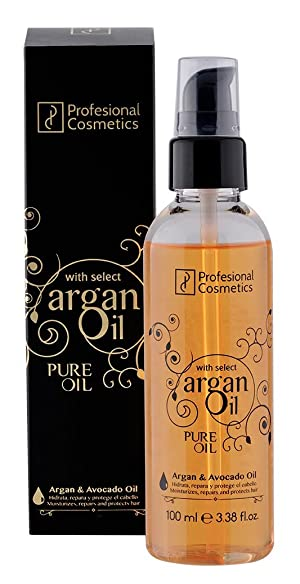 Profesional Cosmetics Argan Oil Pure Oil W/Avocado Oil