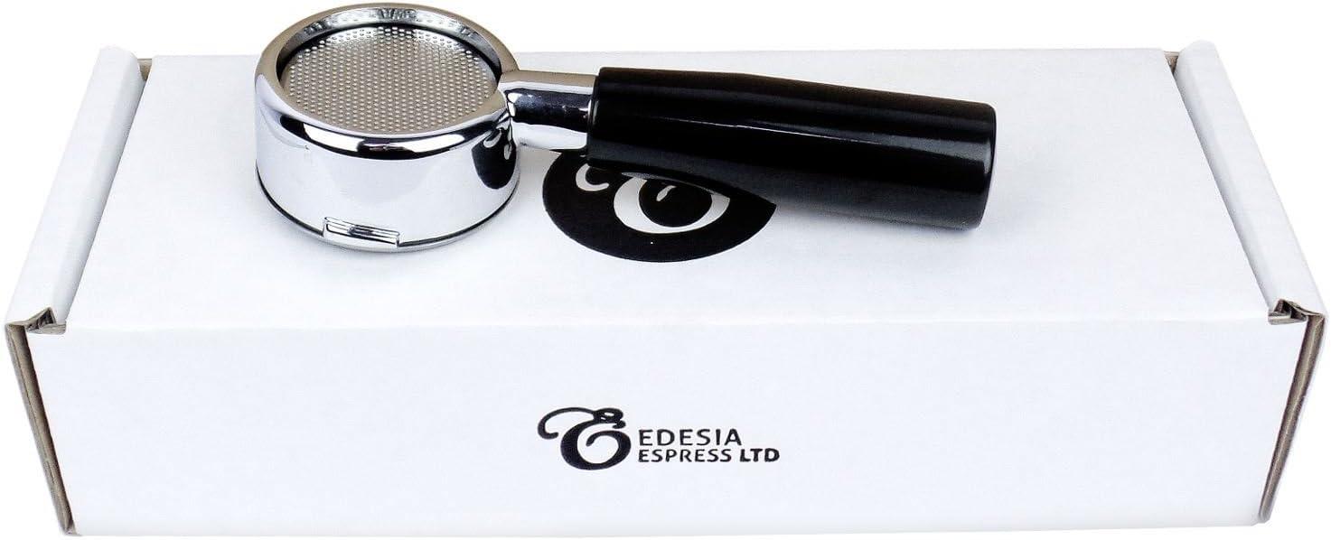 Portafiltros desnudo sin fondo y con mango para cafeteras de espresso de palanca LA PAVONI 51mm – Europiccola Stradivari Professional, etc.- Canasta de 14 g: Amazon.es: Hogar
