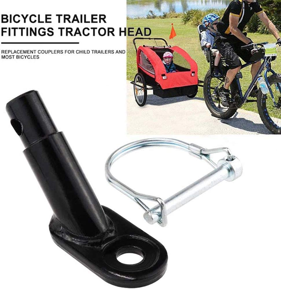 Bike Trailer Hitch Connector Aluminum Alloy Bicycle Trailer Hitch zhuangyulin6 Bicycle Bike Trailer Hook Coupler Attachment Hook Angled Elbow Bicycle Rear Racks