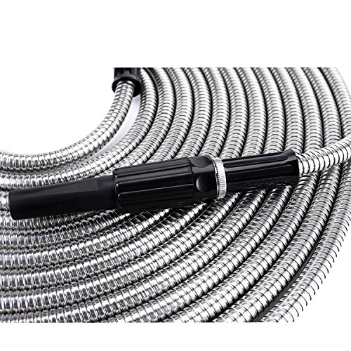 Beaulife Strong 304 Stainless Steel Metal Garden Hose With Import It All