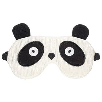 MIK funshopping Ojo Máscara Antifaz para dormir Panda