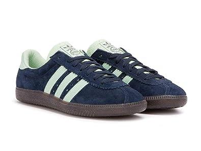 Adidas Padiham Spezial, Zapatillas Altas para Hombre, Azul Navy Blue/Green, 40 EU: Amazon.es: Zapatos y complementos