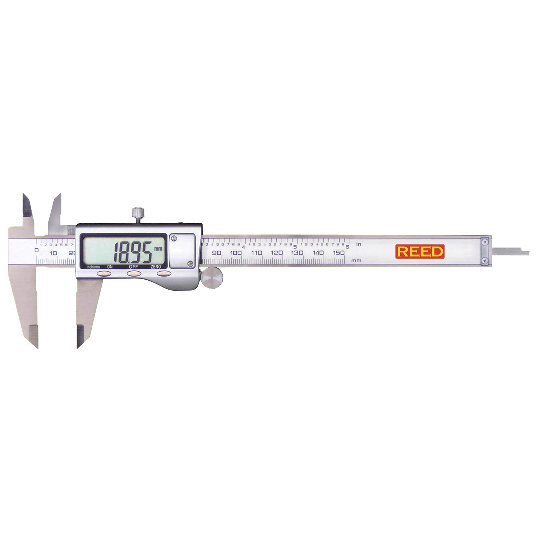 REED Instruments DC-515 Digital Caliper, 6'' (150mm)