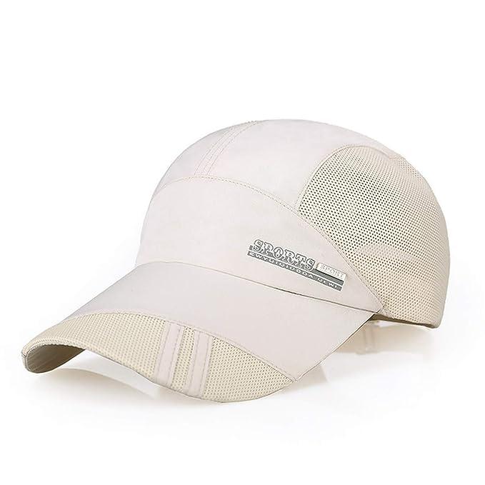 Outdoor Running Caps Mesh Breathable Men Baseball Golf Cap Summer  Adjustable Sun Hat for Men Women 114916934508