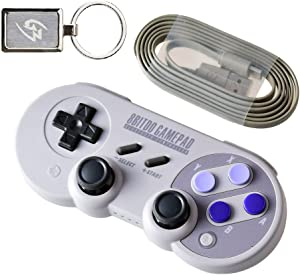 Mcbazel SN30 Pro Bluetooth Wireless Controller for Nintendo Switch Windows Android Steam with Gam3Gear Keychain
