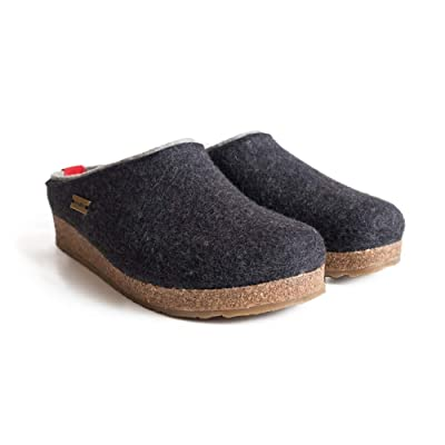 HAFLINGER Women's Kris Clogs-and-Mules-Shoes | Mules & Clogs