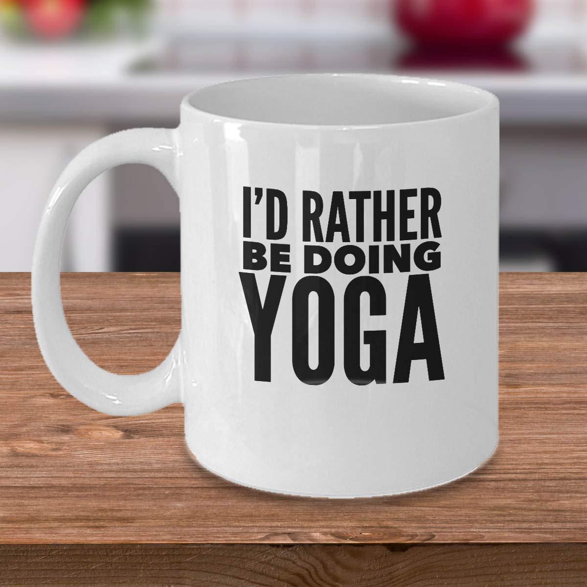 Amazon.com: Yoga Coffee Mug - Funny Yoga Gift - Gift Idea ...