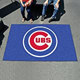Fan Mats 6470 MLB - Chicago Cubs 5' x 8' Ulti-Mat Area Rug / Mat