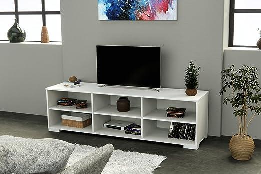 INFINIKIT Haven Mobile porta TV - Bianco Parisot 9265BATV-ECR