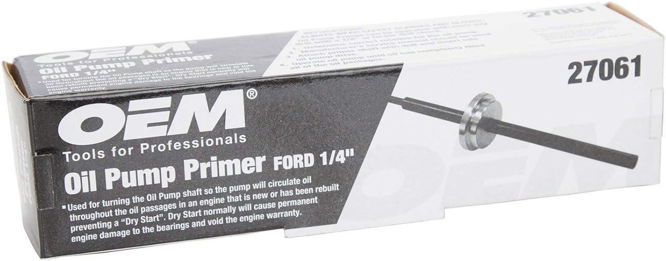 OEMTOOLS 27061  Ford 1//4 Inch Hex Oil Pump Primer Renewed