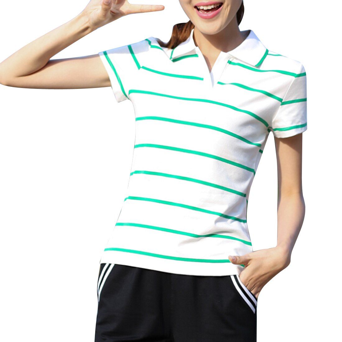 46b818f6 Womens Sport Polo Shirts - DREAMWORKS
