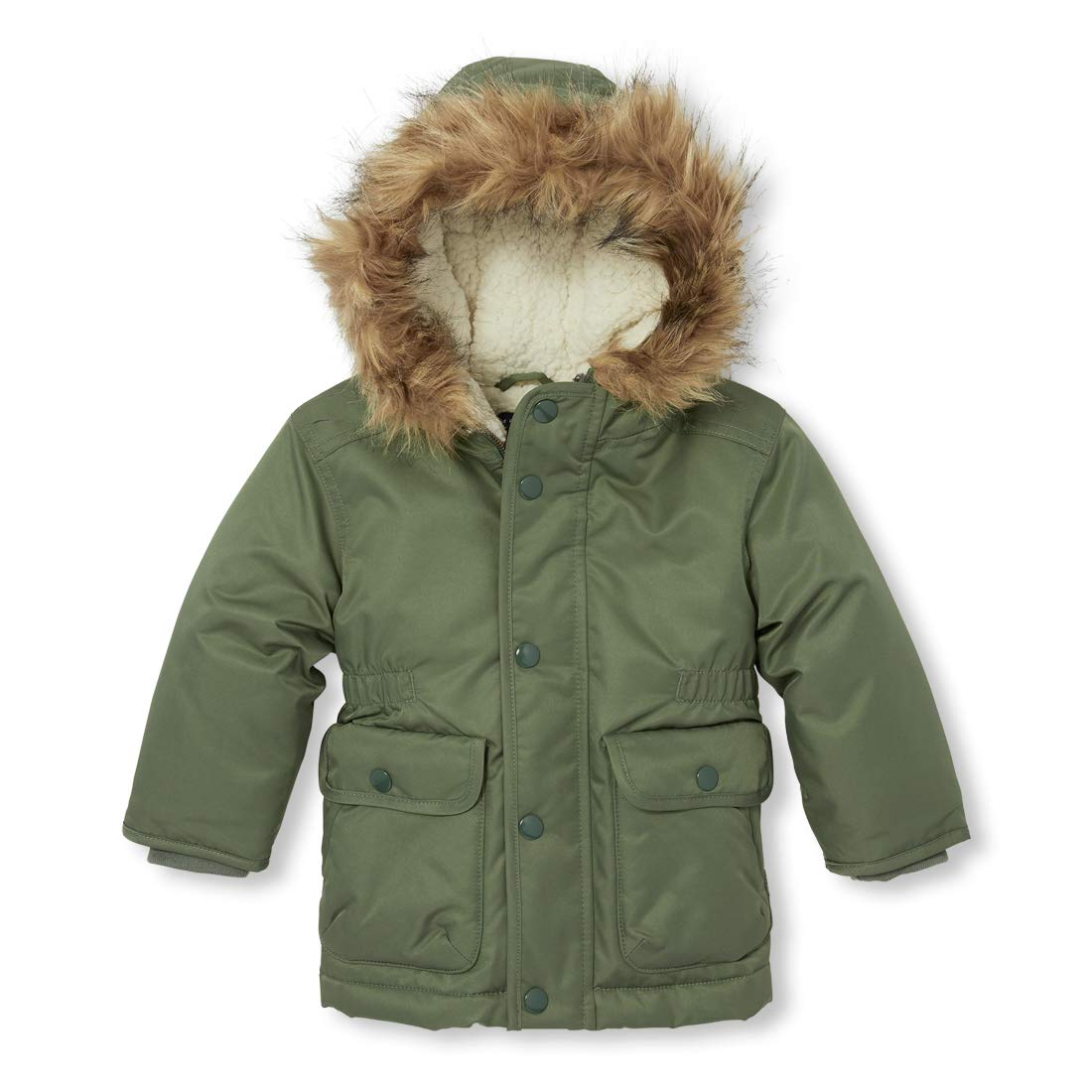 3bd343ad2 Amazon.com  The Children s Place Baby Boys Parkas  Clothing