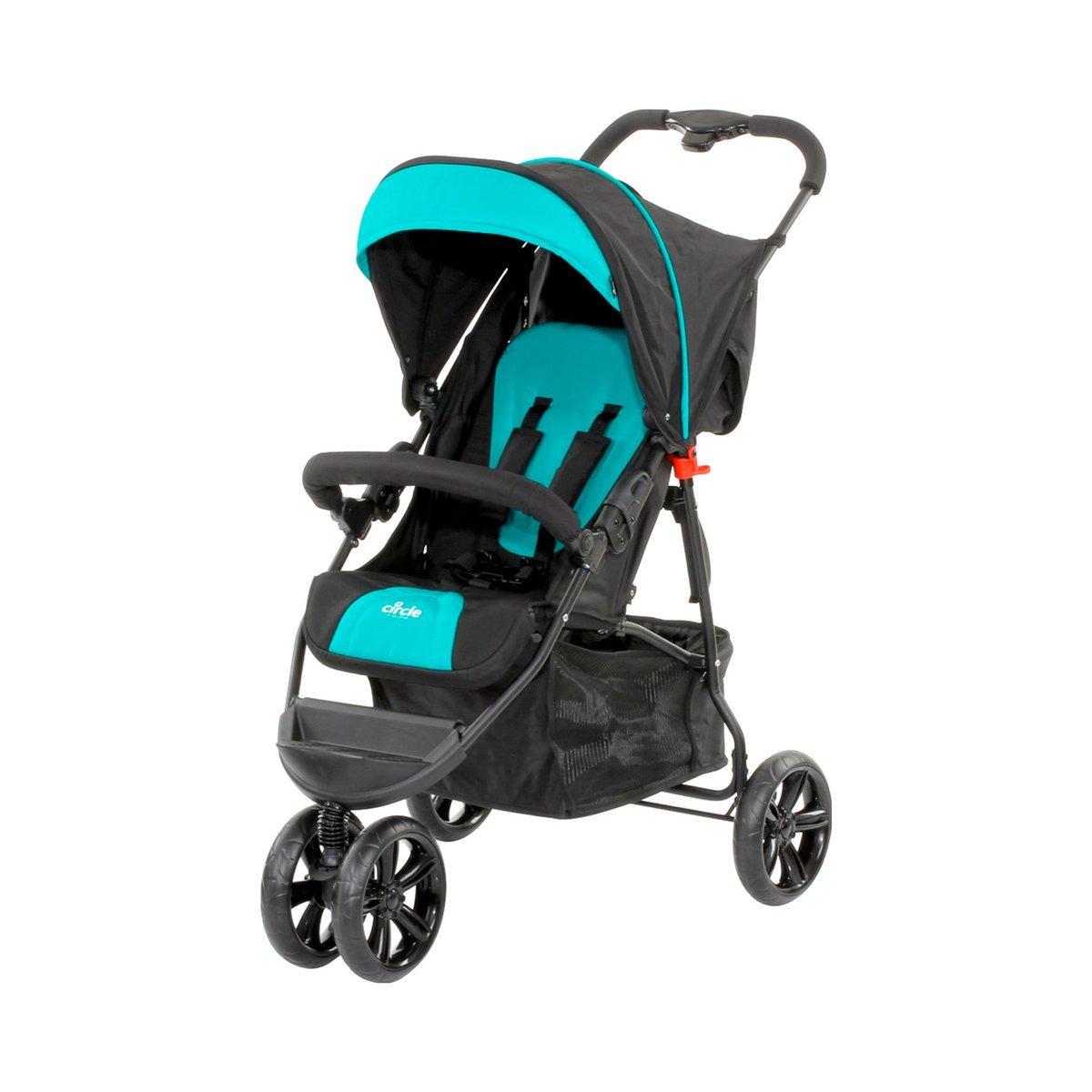 ABC Design 4045875033292/3/Wheel Sport Buggy Treviso 3S Cirle negro//azul