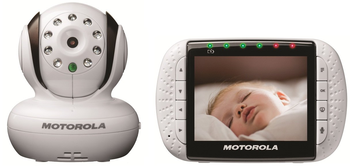 motorola wifi baby monitor. amazon.com: motorola mbp36 remote wireless video baby monitor withcolor lcd screen: wifi