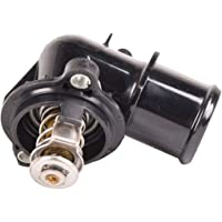 QUALINSIST Thermostat Housing 12674639 fit for Cadillac Escalade 2015-2017 for Cadillac Escalade ESV 2015-2017 for Chevrolet Corvette 2014 for Chevrolet Silverado 1500 2014-2018