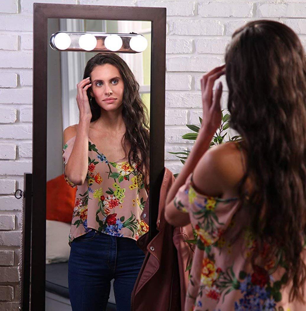 Built-in Light Flawless Hair Remover, Best Eyebrow Epilator, Lipstick Design Women's Painless Hair Remover, As Seen On TV Treeshu
