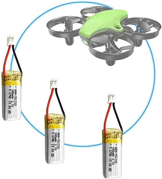 1 Piece 3.7V 180mAh Lipo Battery Lipo Battery for Potensic A20 A20W RC Drone