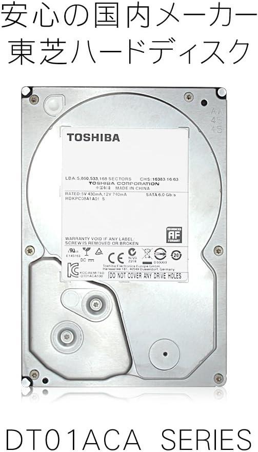 Toshiba DT01ACA100 Disque Dur SATA 1 to 7200 TR//Min 32 Mo de Cache