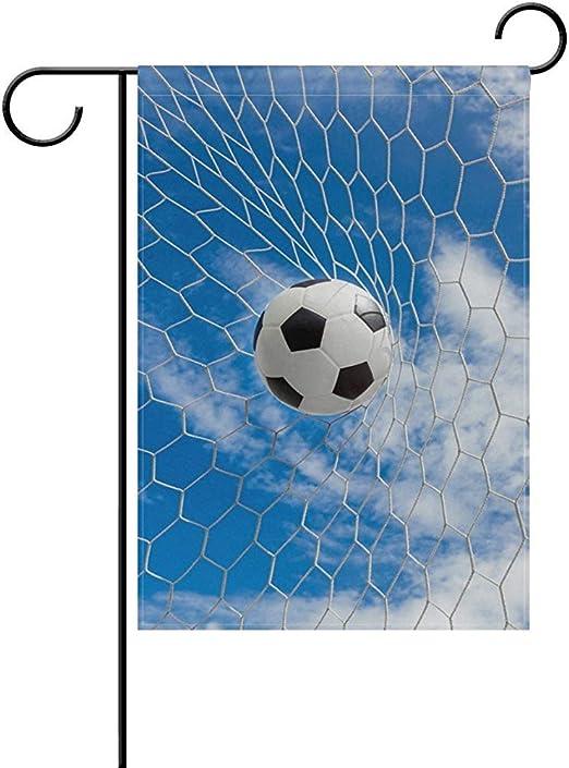 fingww Bandera del Jardin Portería De Fútbol Bandera del Cielo ...