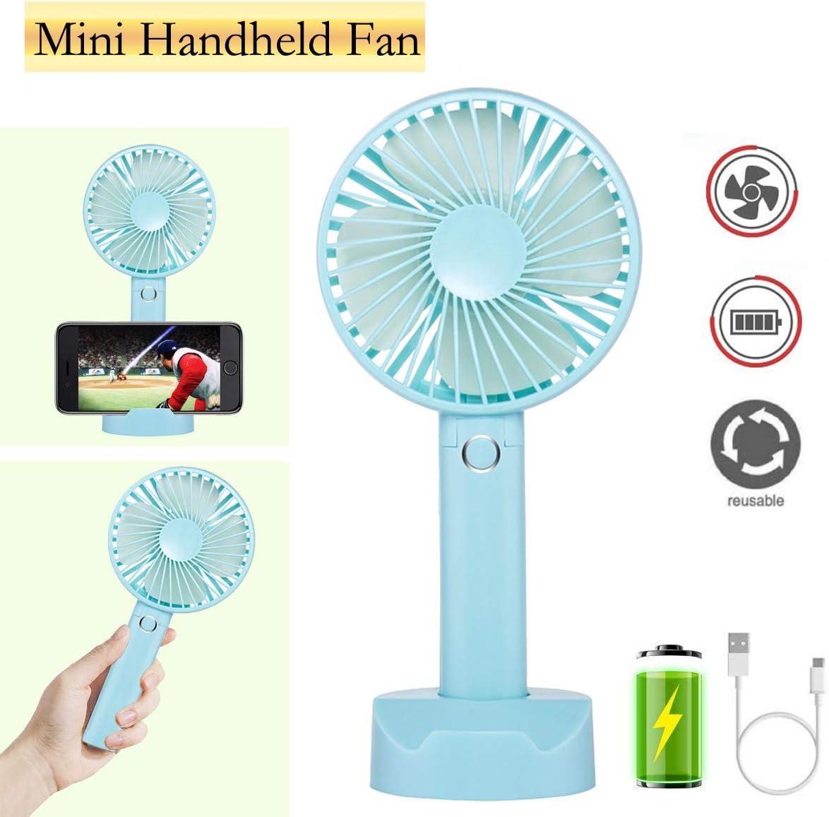 Mini Fan Summer Essential Fan Portable Fan Usb Handheld Portable Mini Fan For Travel Office Home