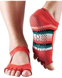Toesox Full Toe Bellarina - Calcetines de Yoga Unisex adulto ...