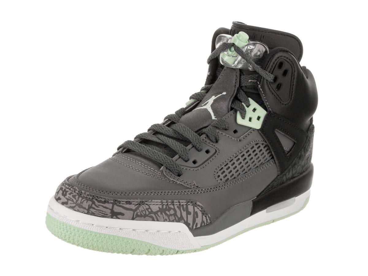 Jordan Nike Kids Spizike GG Black/Mint Foam Dark Grey Basketball Shoe 6.5 Kids US