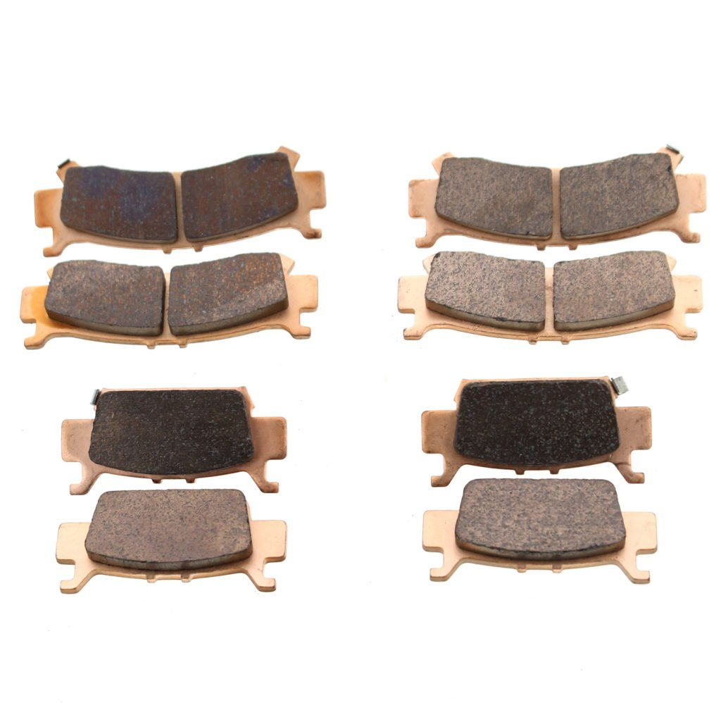 Honda 1000 Pioneer Front and Rear Brakes Brake Pads 2016-2019 by Race-Driven